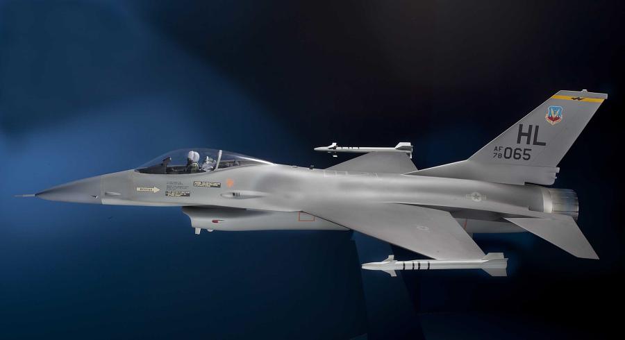 Model, Static, General Dynamics F-16 Fighting Falcon