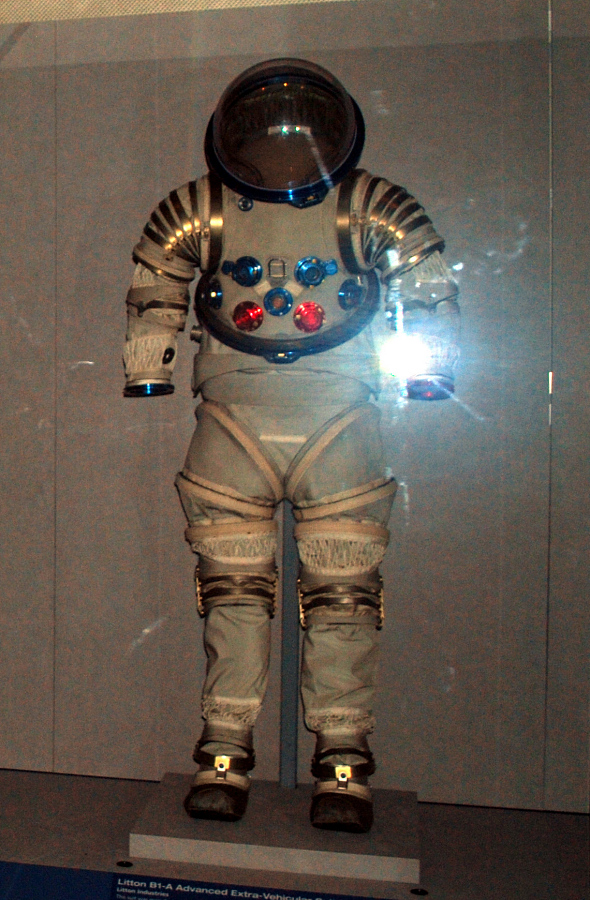 Pressure Suit, Adavanced Extravehicular Suit, B1-A