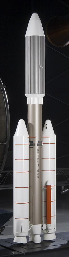 Titan IIIE Centaur Rocket model