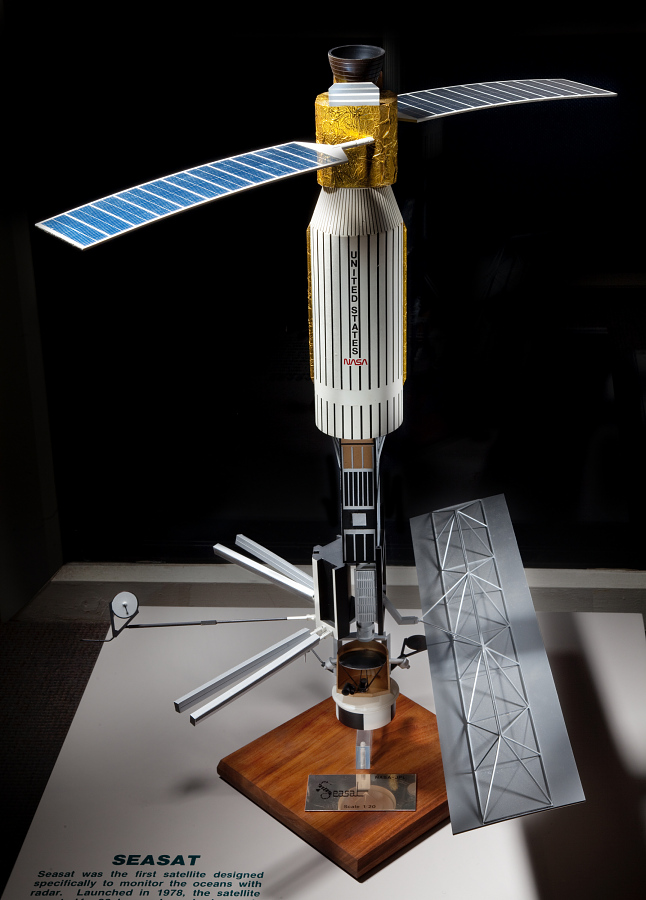 Model, Meteorological Satellite, Seasat 1