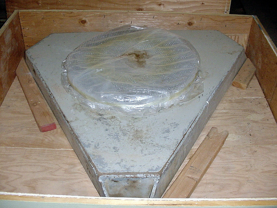 Camera, Satellite Tracking, Baker-Nunn, Base Plate