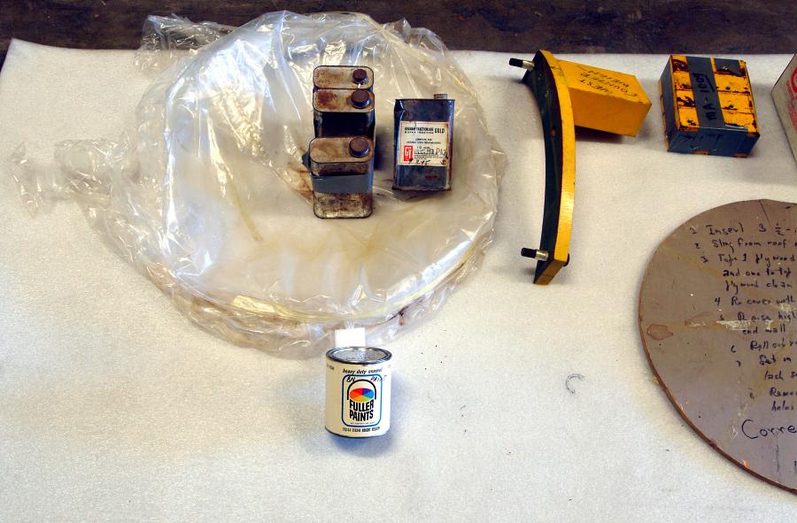 Camera, Satellite Tracking, Baker-Nunn, Corrector Cell Cover,Miscellaneous Parts