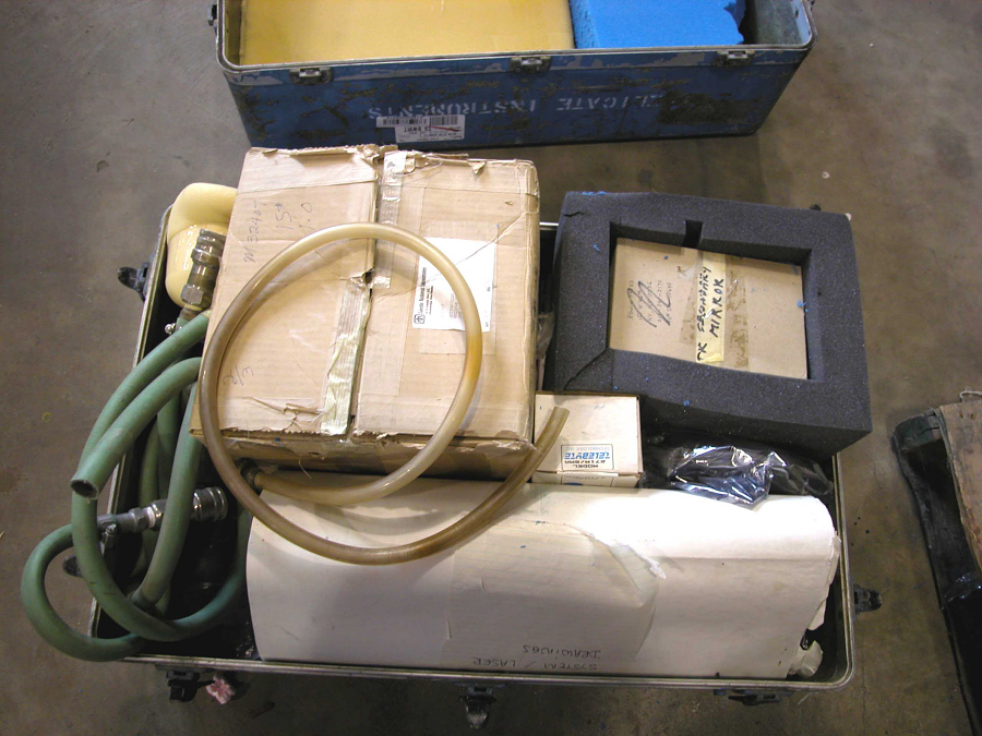 Laser Ranging System, Satellite-Tracking, Photomultiplier Tube, Mirror