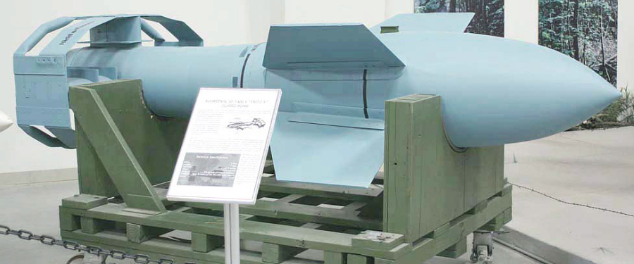 Bomb, Guided, Fritz X (X-1)