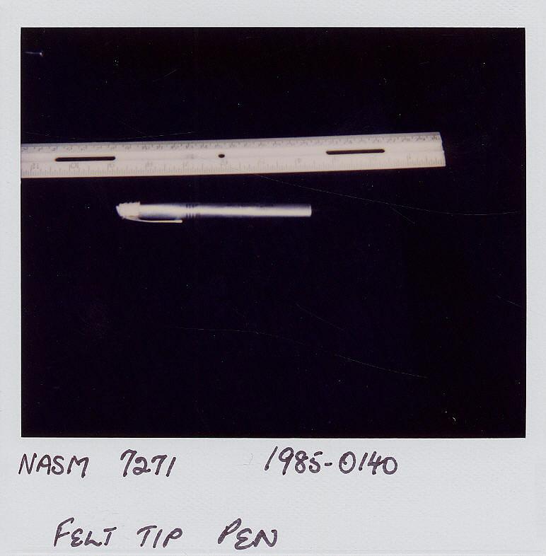Pen, Marker, Collins, Apollo 11