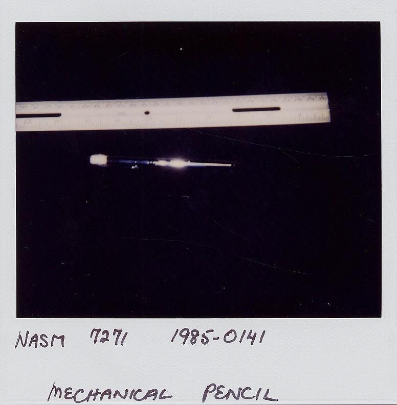 Pencil, Mechanical, Garland 35-P, Collins, Apollo 11