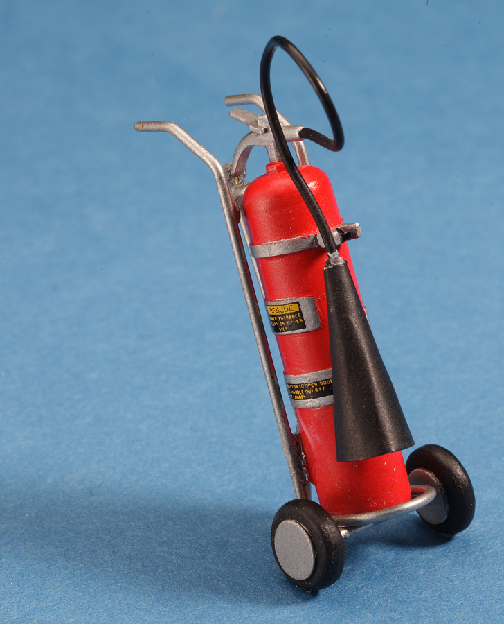 Model, Fire Extinguisher, North American O-47