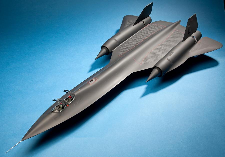 Model, Static, Lockheed SR-71A Blackbird