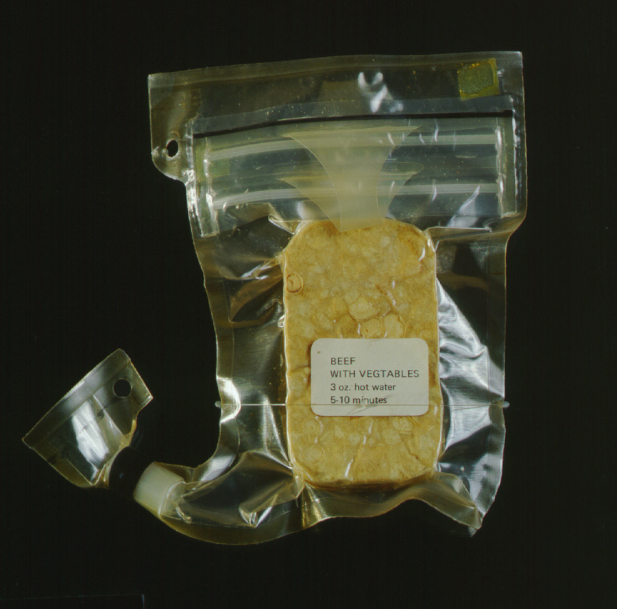 Space Food, Beef with Vegetables, Apollo 11 (Blue)