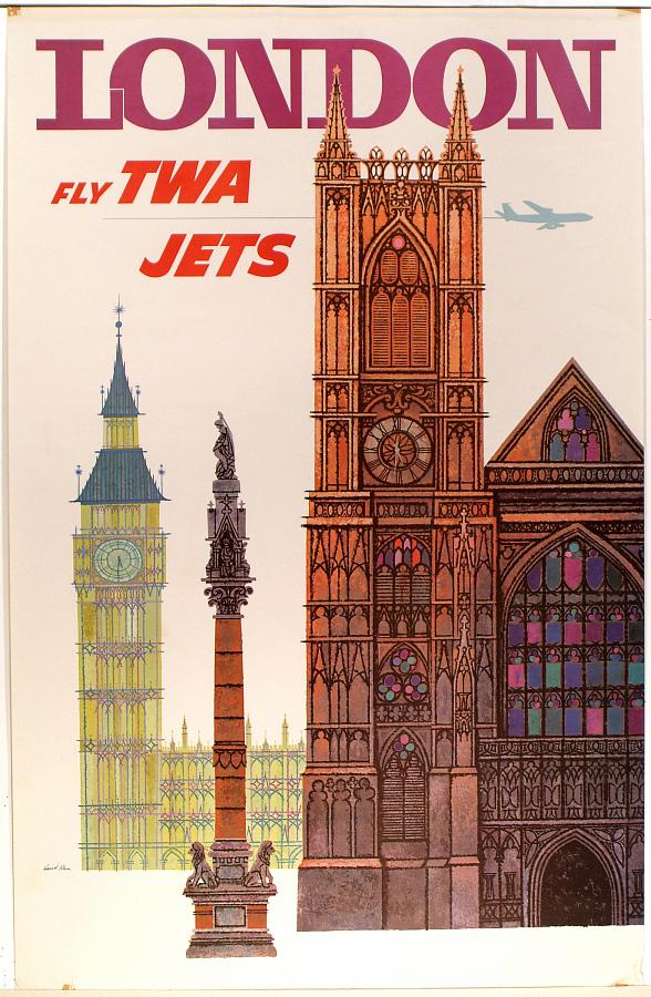 London: Fly TWA Jets