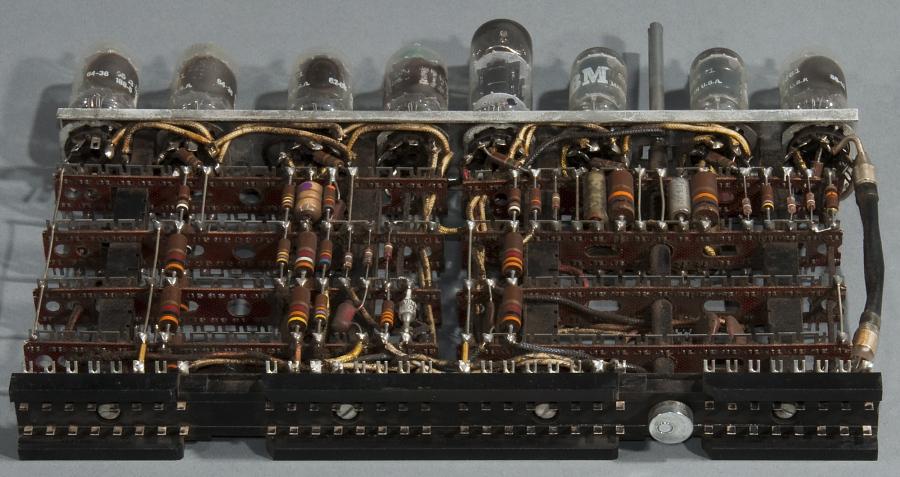 Circuit Board, Module, Computer, IBM 701