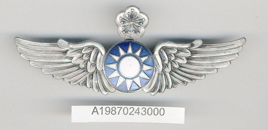 Case, Badge, Pilot, Nationalist China, Gen. Charles Yeager