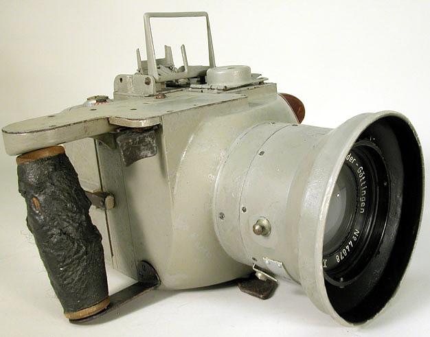 Camera, Aerial, Fritz Volk Handkammer HK12.5