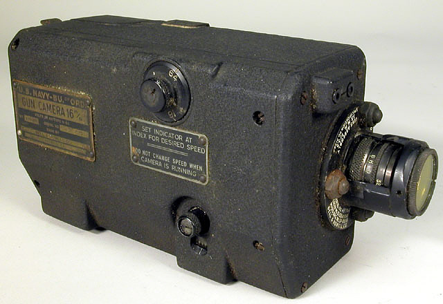 Camera, Gun, Motion Picture, Bell & Howell N6A, 16MM, U.S. Navy