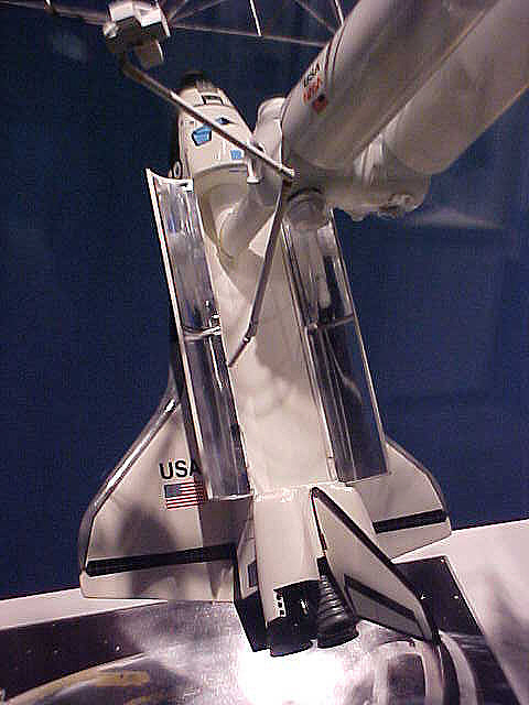 Model, Space Shuttle, Columbia, 1:100
