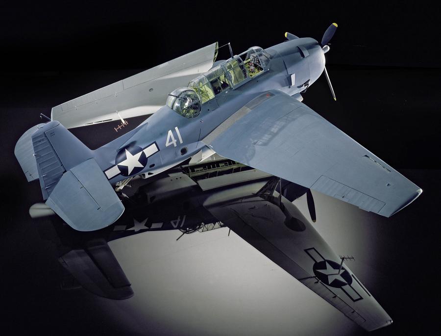 Model, Static, Grumman TBF-1C Avenger