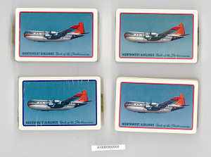 images for Playing Cards, Northwest Airlines-thumbnail 5
