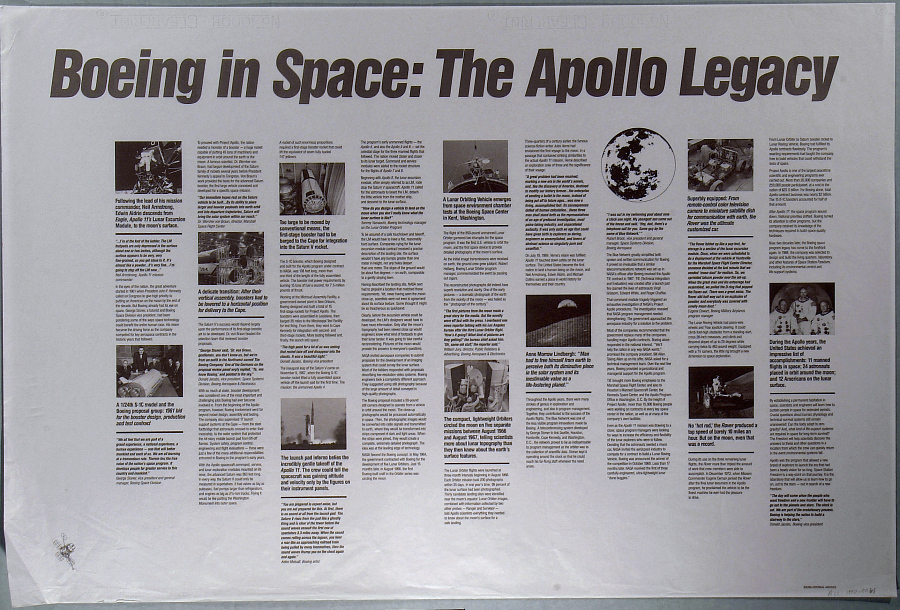 Boeing in Space: The Apollo Legacy