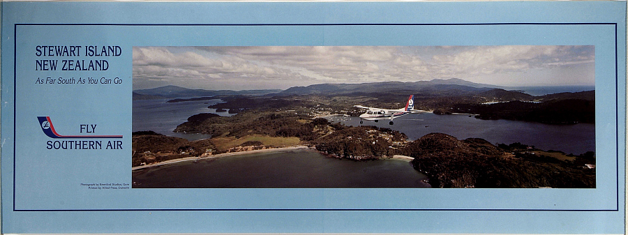 Fly Southern Air: Stewart Island New Zealand