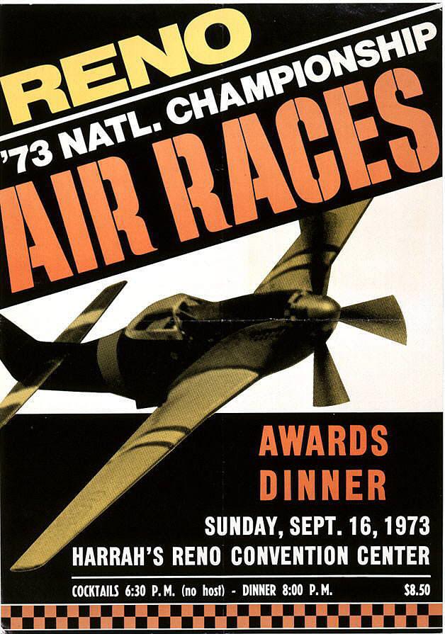 Reno 73 National Championship Air Races