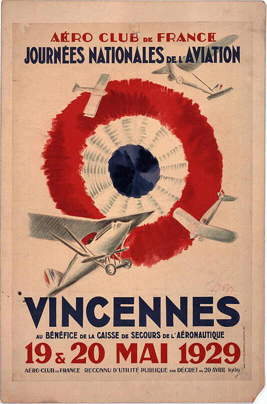 Vincennes Au Benefice de la Caisse de Secours de l'Aeronautique