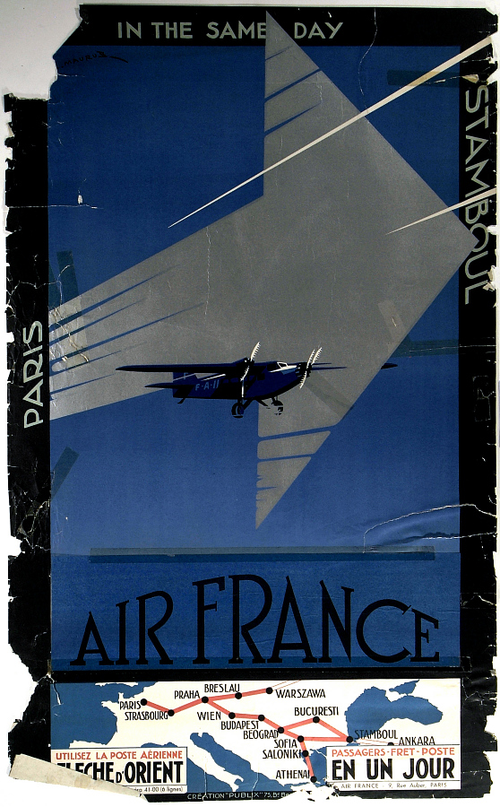 Air France: Paris-Stamboul in the Same Day