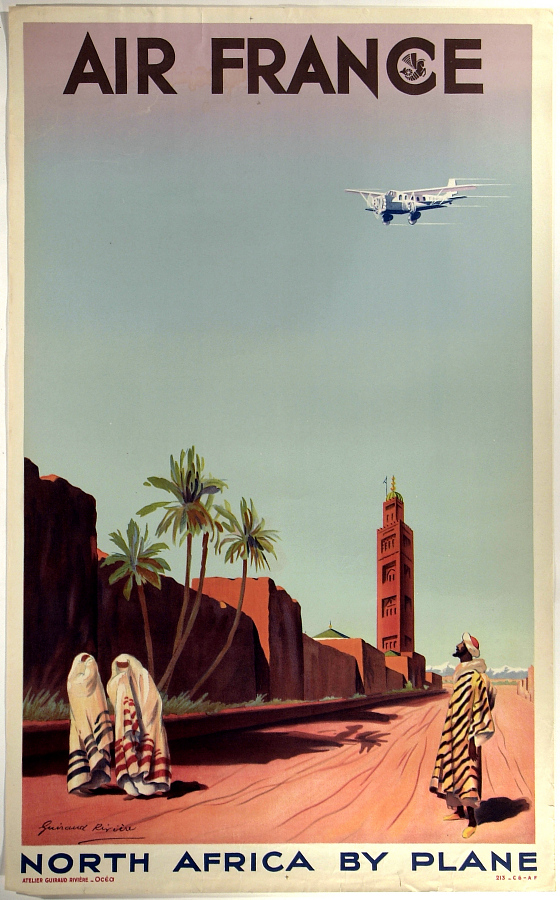 Air France North Africa By Plane