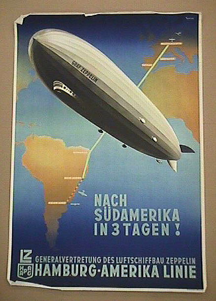 Hamburg-Amerika Linie: Nach Sudamerika in 3 Tagen!