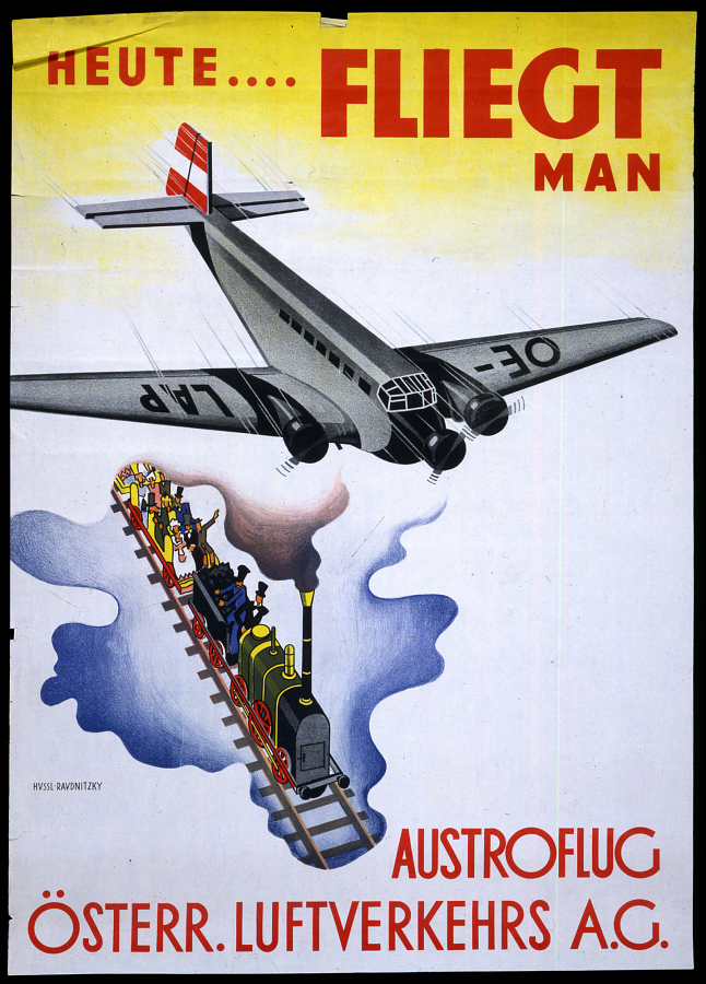 Osterreichische Luftverkehrs A.G.: Heute....Fliegt Man