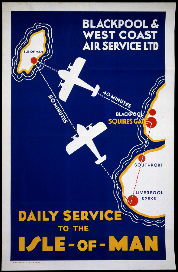 Blackpool & West Coast Air Service Ltd. Daily Service to the Isle of Man