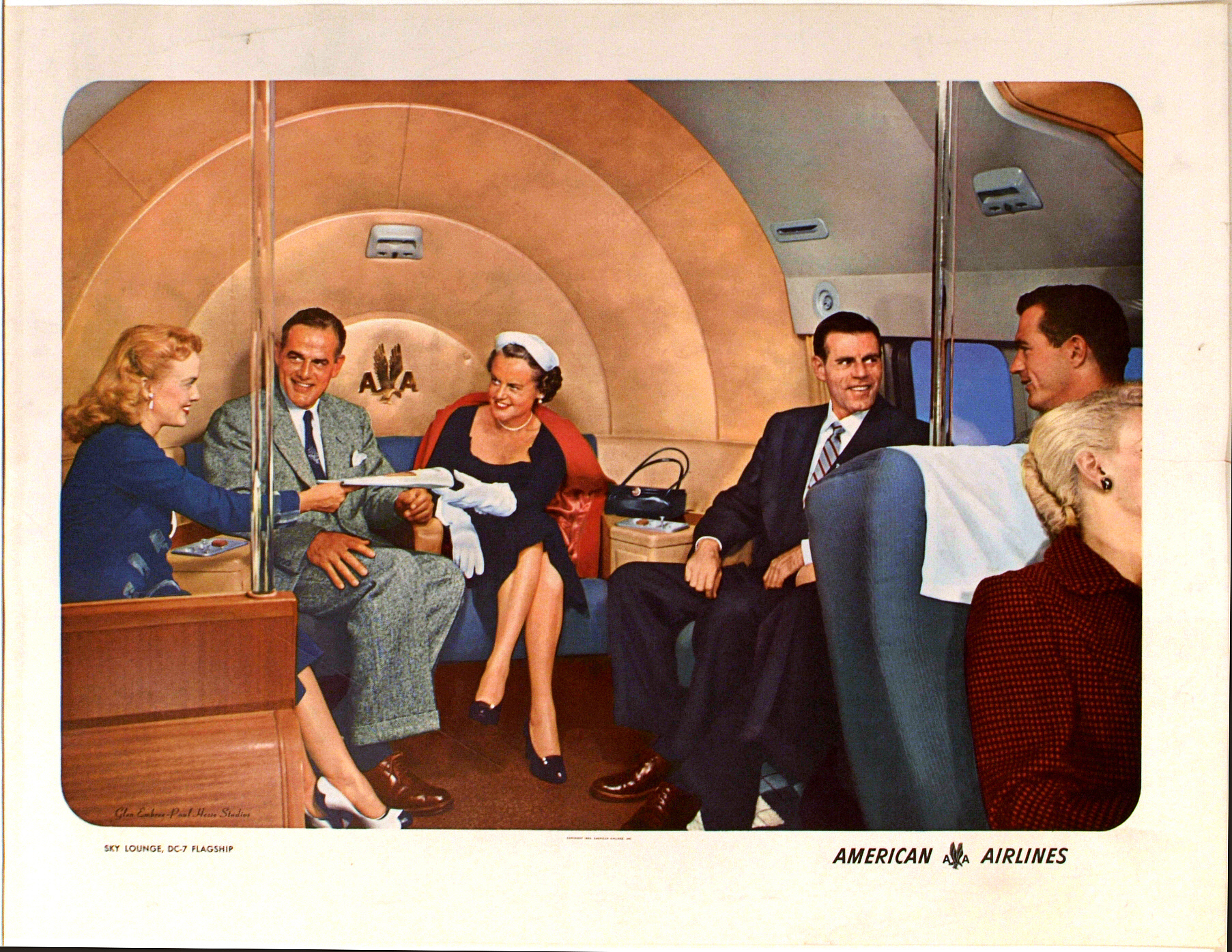 images for American Airlines Sky Lounge, DC-7 Flagship