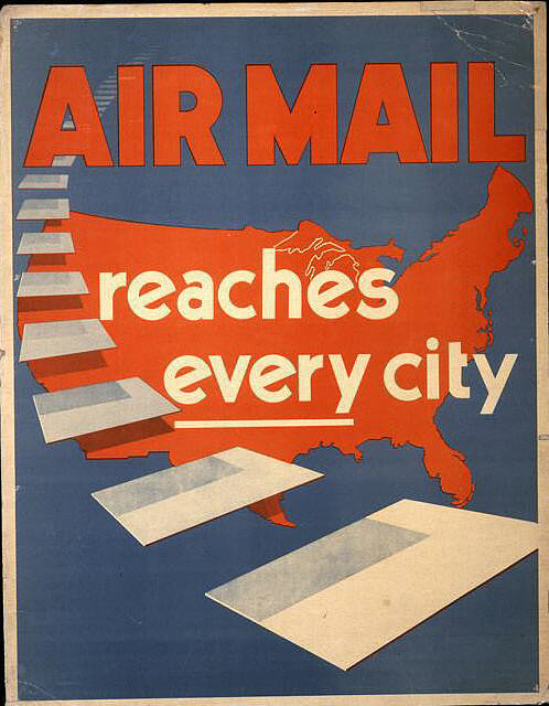 Air Mail Reaches Every City