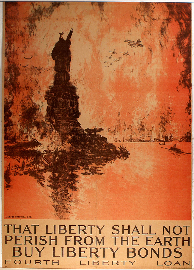 That Liberty Shall Not Perish From the Earth. Buy Liberty Bonds.