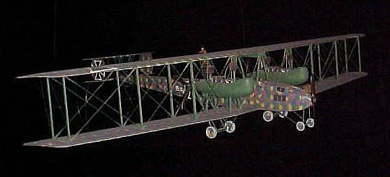Model, Static, Zeppelin-Staaken R.IV