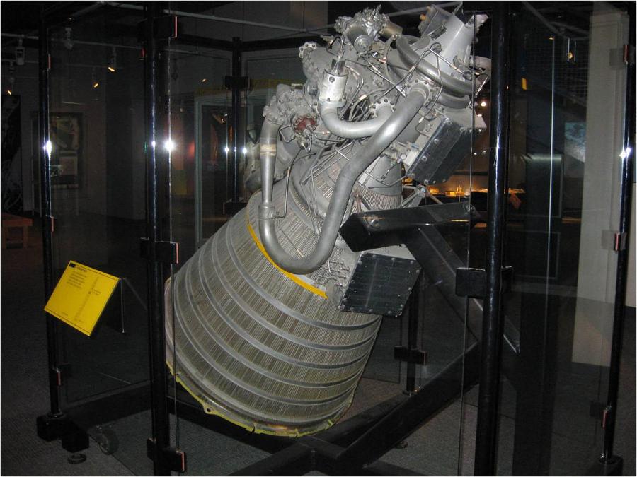 Rocket Engine, Liquid Fuel, RL-10