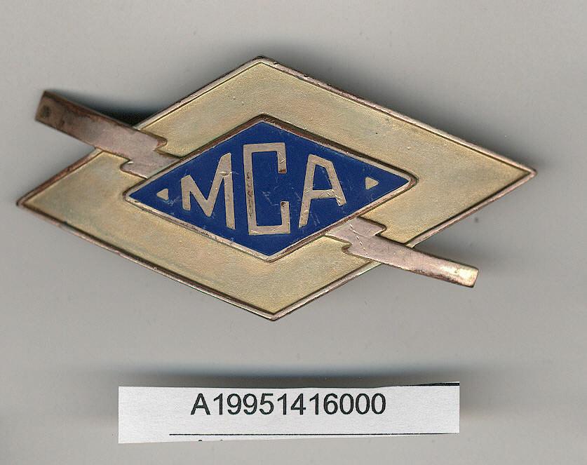 Badge, Cap, Mid Continent Airlines