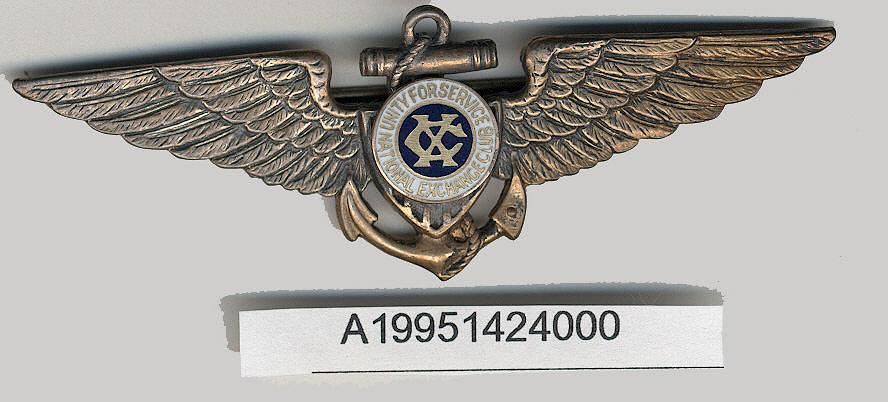 Badge, Pilot, National Exchange Club