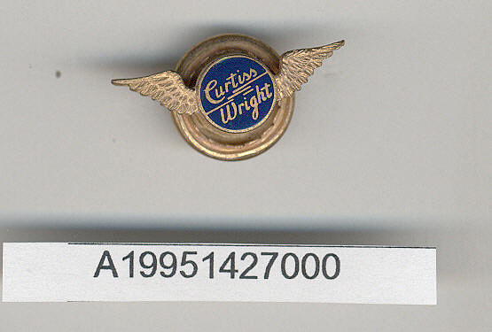 Pin, Lapel, Curtiss-Wright