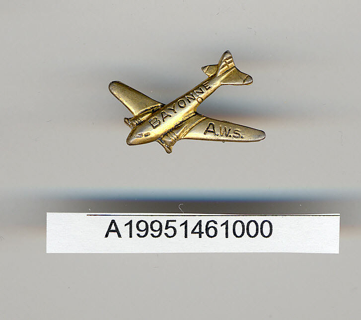 Pin, Lapel, Bayonne Airways