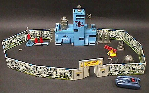 Toy, Rocket Port, Space Patrol