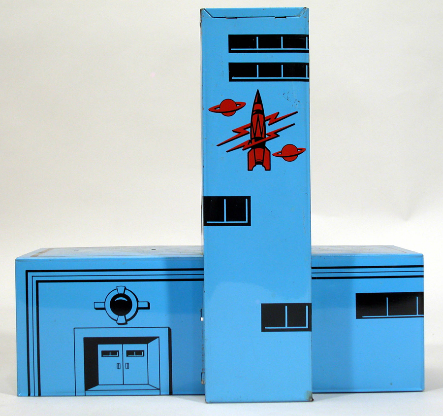 Toy, Rocket Port, Space Patrol, Control Tower