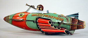 images for Toy, Space Ship, Buck Rogers, Rocket Police Patrol Ship-thumbnail 3