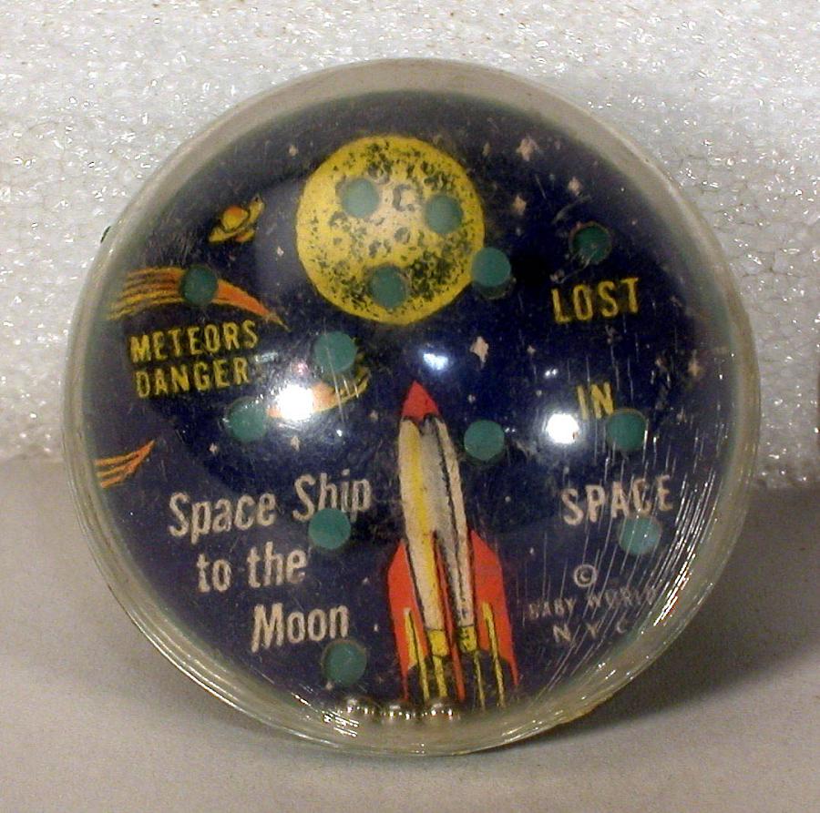 Toy, Mini Pinball, Spaceship to the Moon