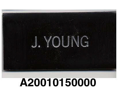 Name Tag, Shuttle Astronaut (Young)
