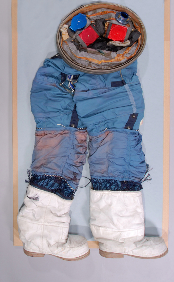 Pressure Suit, Apollo, A7-L, Cunningham, Apollo 7, Lower Section