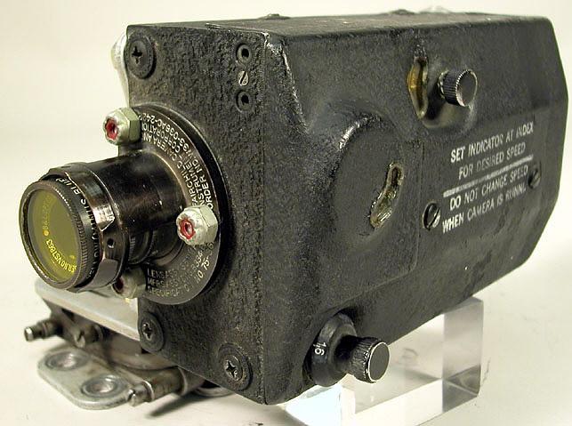 Camera, Gun, Motion Picture, AN-N6, Fairchild, 35mm