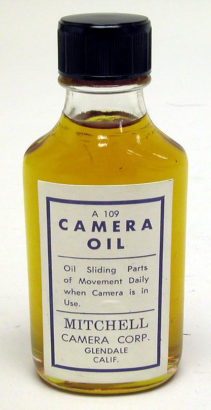 Accessories, Photographic, Mitchell Camera Oil