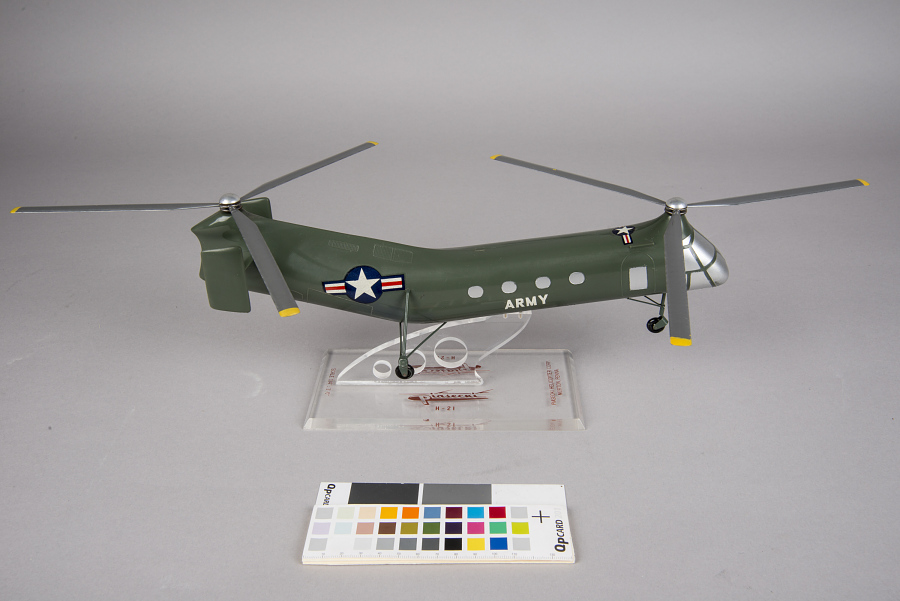 Stand, Model, Static, Piasecki H-21 Shawnee