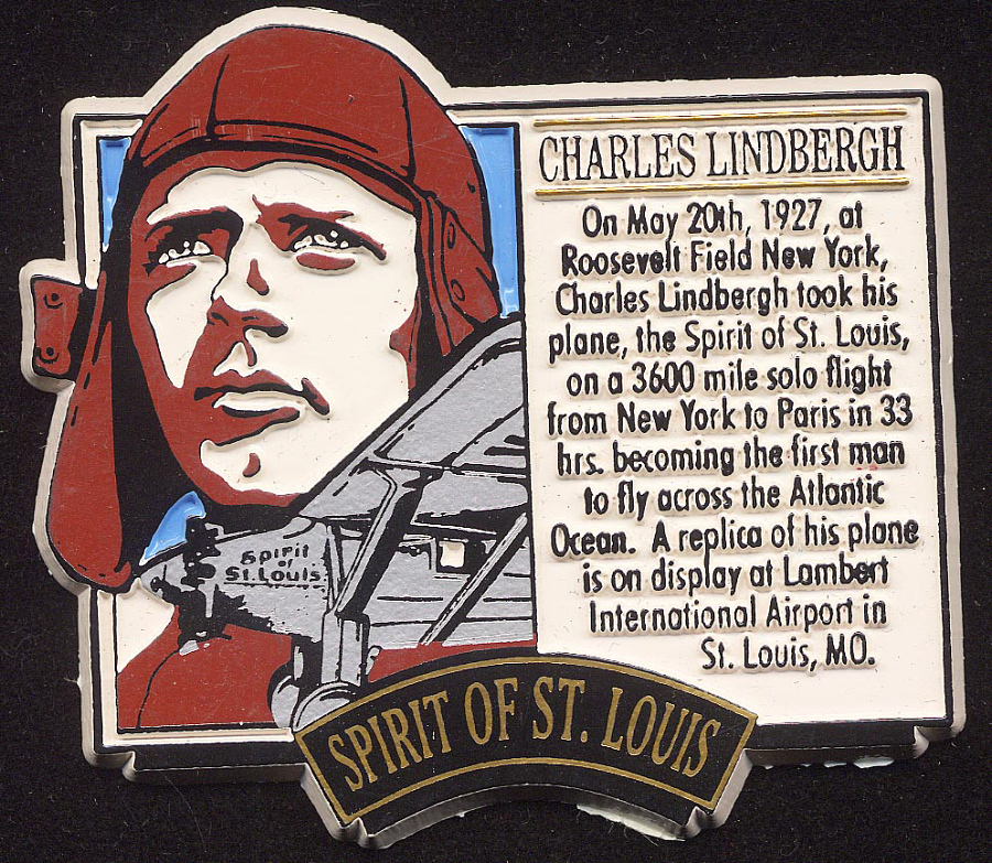 Magnet, Lindbergh, King Collection