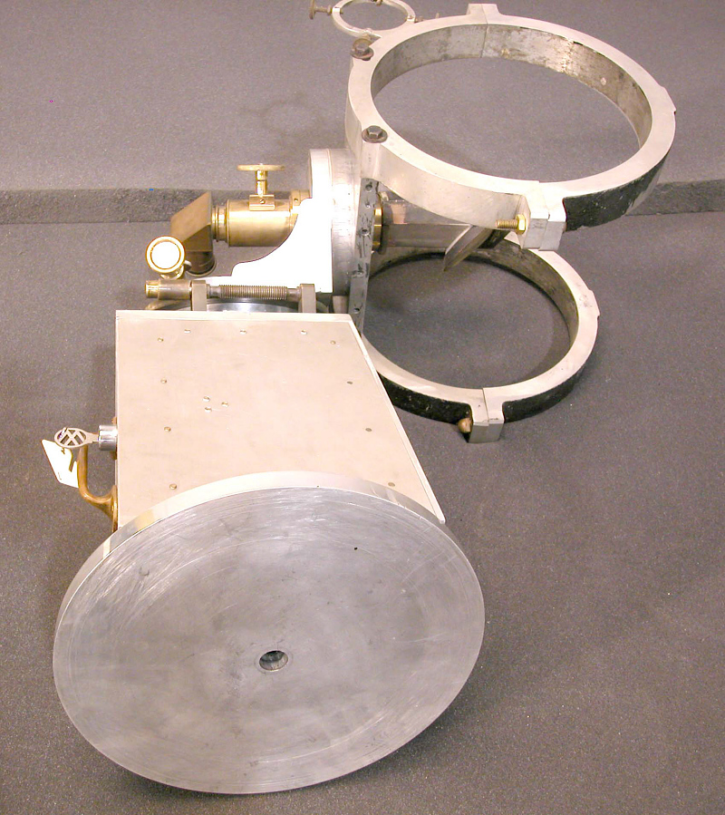 Equatorial Head, Telescope, Springfield Newtonian, with Misc. parts